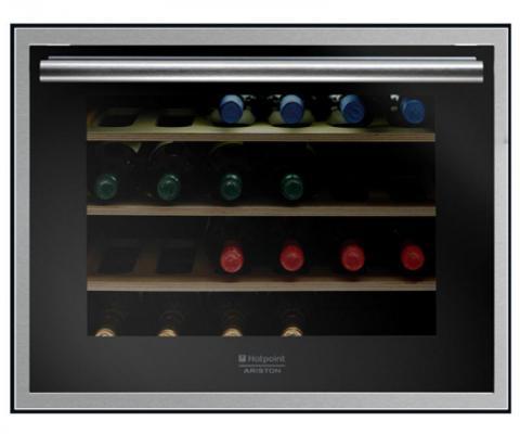 Винный шкаф Hotpoint-Ariston WL 24 A/HA серебристый винный шкаф climadiff cls 28 a