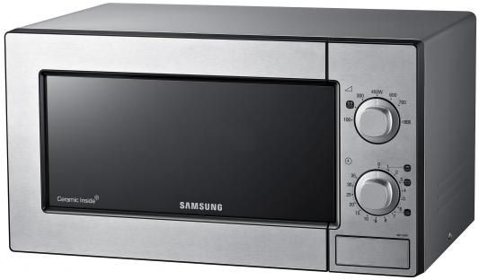 СВЧ Samsung ME81MRTS 800 Вт серебристый  свч samsung ms23k3515ak 800 вт чёрный