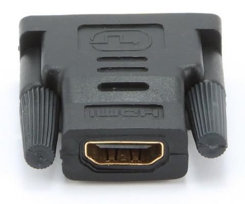 Переходник HDMI F - DVI M Gembird золотые разъемы пакет A-HDMI-DVI-2 hdmi на dvi переходник