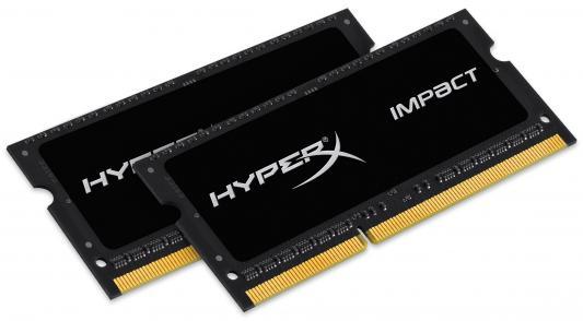 все цены на Оперативная память для ноутбуков SO-DDR3 8Gb(2x4Gb) PC12800 1600MHz Kingston CL9 HX316LS9IBK2/8 HyperX Impact Black