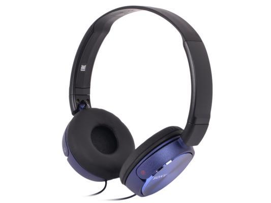 Гарнитура Sony MDR-ZX310AP синий sony mdr zx310ap red