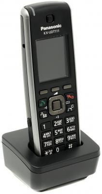 Телефон IP Panasonic KX-UDT111RU SIP DECT черный телефон ip dect panasonic kx tgp600rub sip цифр ip телефон voip ethernet upto 8 hset line память 500 звук hd