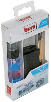 Набор для ухода за техникой BURO BU-Photo+Video 30 мл набор для ухода за техникой buro bu gsurface 200 мл салфетка из микрофибры