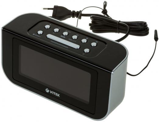 Часы с радиоприемником Vitek VT-3521 ВК часы с радиоприемником vitek vt 3505sr