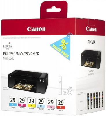 Купить Набор картриджей Canon PGI-29 CMY/PC/PM/R Multi для PRO-1