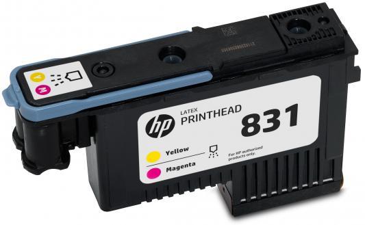 Печатающая головка HP CZ678A №831 желтый пурпурный для HP Latex 310 330 360 картридж hp cz706a для latex 310 330 360