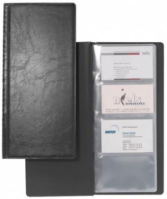 Визитница Durable Visifix 128 шт черный 230801