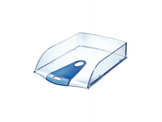 Лоток горизонтальный Leitz Allura полупрозрачный голубой 52000005