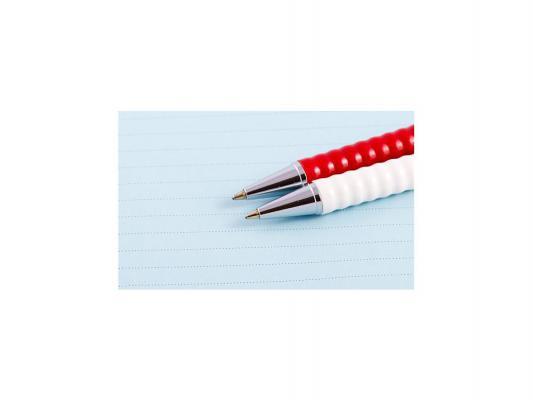 Шариковая ручка Rotring Tikky II чернила синие корпус белый S0770890 авторучка шариковая 1 0мм корпус из пресованной бумаги синие пластиковые детали синие чернила