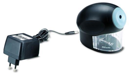 Точилка KW-trio 30H2 пластик черный