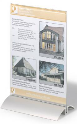 Информационная табличка Durable настольная A5 прозрачная 8588-19