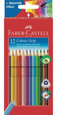 Карандаши цветные Faber-Castell Grip 2001 12 шт 112412