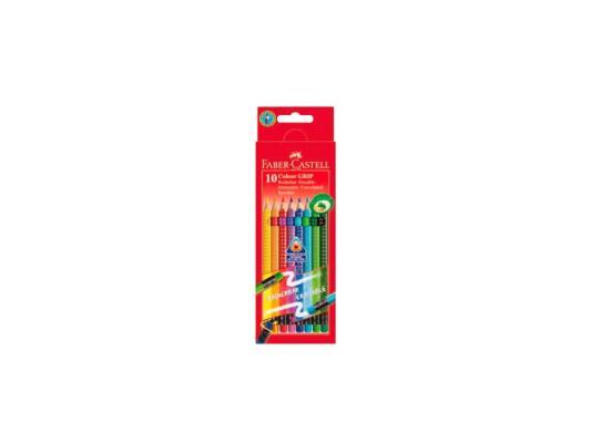 Набор цветных карандашей Faber-Castell Grip 2001 10 шт 116613