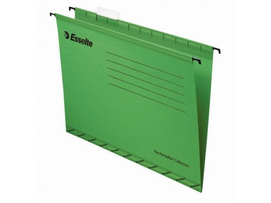 Папка подвесная Esselte Pendaflex Plus Foolscap 405x365x242мм 25шт зеленый 90337 цена и фото