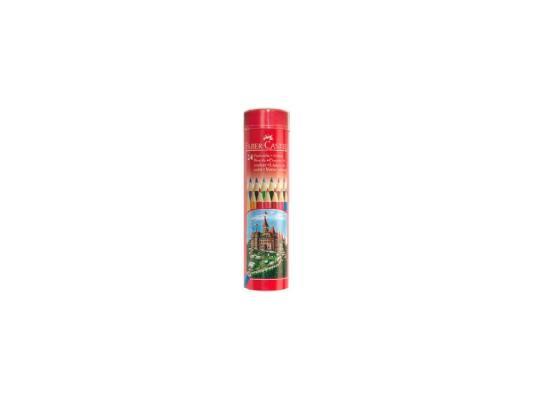 Купить со скидкой Набор цветных карандашей Faber-Castell Colour Pencils 24 шт 115827