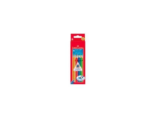 Набор цветных карандашей Faber-Castell Jumbo Grip 6 шт 110906