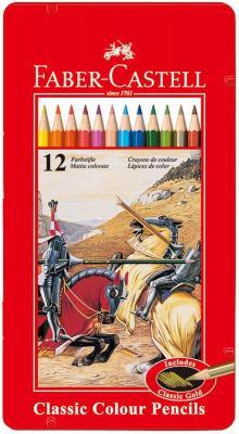 Набор цветных карандашей Faber-Castell Рыцарь 12 шт 115844