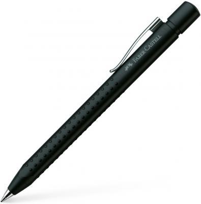 Шариковая ручка автоматическая Faber-Castell Grip 2011 синий 144187 карандаш механический faber castell grip 2011 0 7мм серебряный 131211