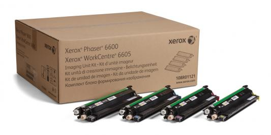 Комплект блоков формирования изображения Xerox 108R01121 CMYK для Phaser 6600 WC6605 60000стр фотобарабан xerox 113r00670 для phaser 5500 60000стр