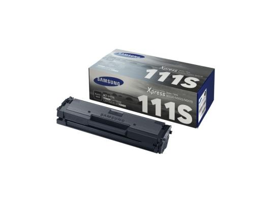 Картридж Samsung MLT-D111S для SL-M2020 SL-M2020W SL-M2070 SL-M2070W черный 1pcs compatible toner cartridge mlt d111s mlt d111s 111 for samsung m2022 m2022w m2020 m2021 m2020w m2021w m2070 m2071fh printer