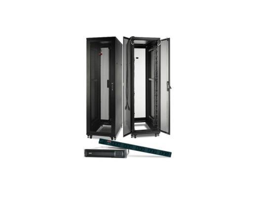 Шкаф APC NetShelter SV 42U 600ммx1060мм Deep Enclosure with Sides черный AR2400 шкаф apc netshelter sx 24u 600mm x 1070mm deep enclosure