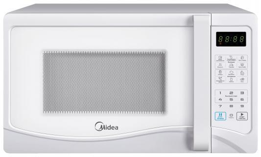 СВЧ Midea EG823AEE 800 Вт белый микроволновая печь midea eg823aee белый