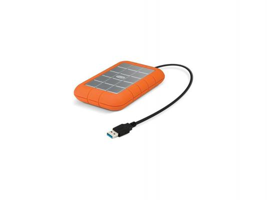 Купить Внешний жесткий диск 2.5 USB3.0 2Tb Lacie Thunderbolt Rugged 9000489 оранжевый