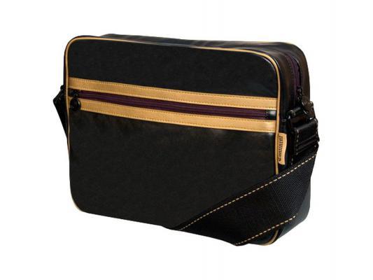 """Сумка для ноутбука  Continent 13,3"""" CC-063 Black/Gold"""