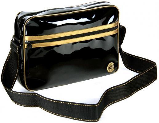 """Сумка для ноутбука 15"""" Continent CC-065 Black Lac Gold"""
