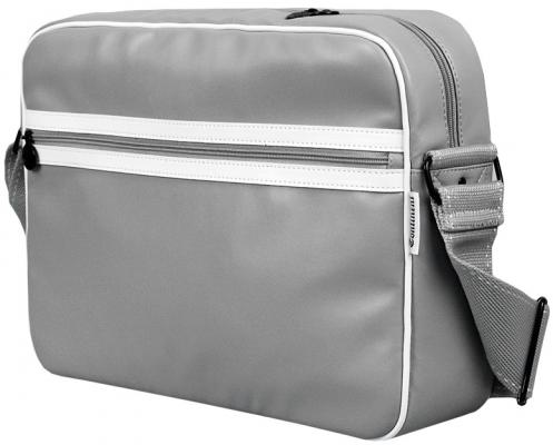 "Сумка для ноутбука 15"" Continent CC-065 Grey/White"