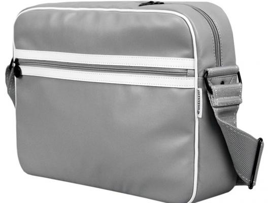 "Сумка для ноутбука 15,6"" Continent CC-065 Grey+Lak/White"