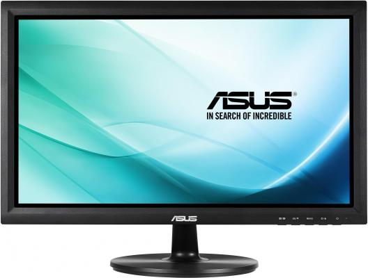 Монитор 19.5 ASUS VT207N черный TFT-TN 1600x900 200 cd/m^2 5 ms VGA DVI USB