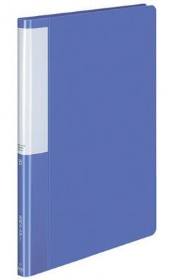 Папка с 20 прозрачными вкладышами Kokuyo RA-B220B A4-A3 синий от 123.ru