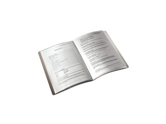 Папка с 20 прозрачными вкладышами Leitz Bebop синий 45640037 от 123.ru