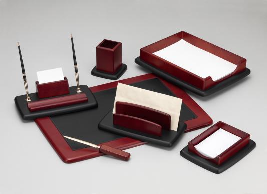 Настольный набор Good Sunrise 7 предметов красное дерево черный M7LF-1