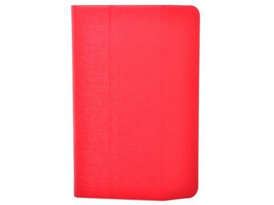 """Чехол TF DUP TF0L2002 для планшета до 10"""" универсальный красный/белый"""