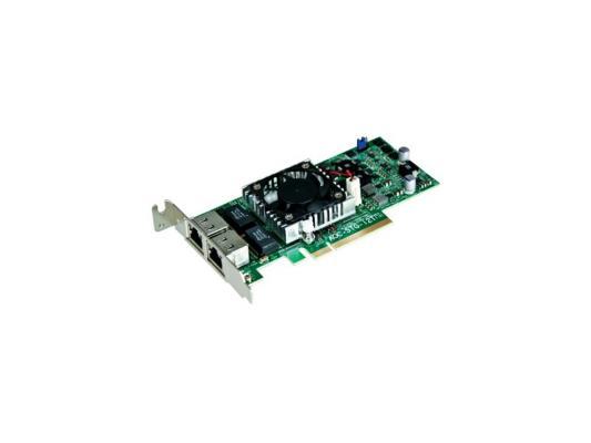 Сетевой адаптер SuperMicro AOC-STG-I2T 10/100/1000 Мбит/c PCI-E 2xRJ-45 цена и фото