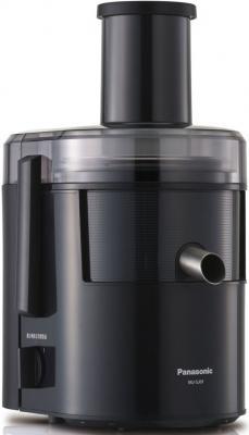 лучшая цена Соковыжималка Panasonic MJ-SJ01KTQ 800 Вт пластик чёрный