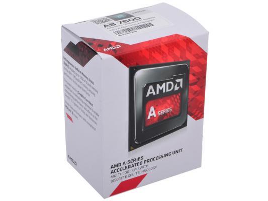 Процессор AMD A8 X4 7600 3.4GHz 4Mb AD7600YBJABOX Socket FM2 BOX
