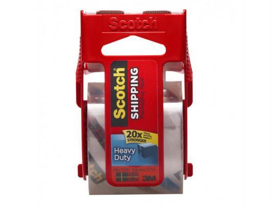Клейкая лента прозрачная упаковочная Scotch 3M на диске 7100010273 от 123.ru