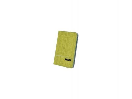 "Чехол Jet.A SC7-7 для Samsung Galaxy Tab 4 7"" желтый"
