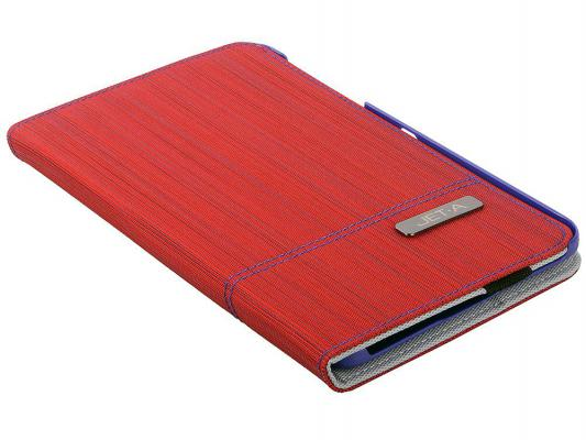 "Чехол Jet.A SC7-7 для Samsung Galaxy Tab 4 7"" красный"