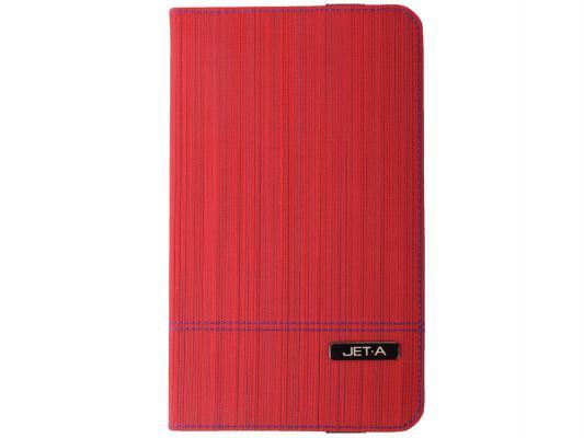 "Чехол Jet.A SC8-7 для Samsung Galaxy Tab 4 8"" красный"