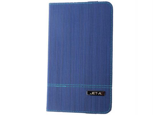 """Чехол Jet.A SC8-7 для Samsung Galaxy Tab 4 8"""" синий"""