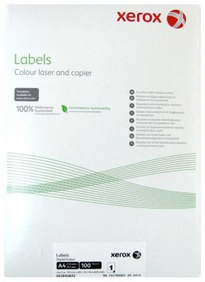 цена на Наклейки Xerox Colotech A4 100 листов 003R93872