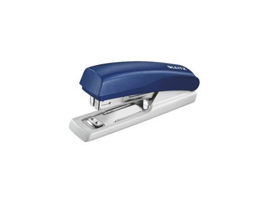 Степлер Leitz до 10 листов скобы №10 синий 55170035