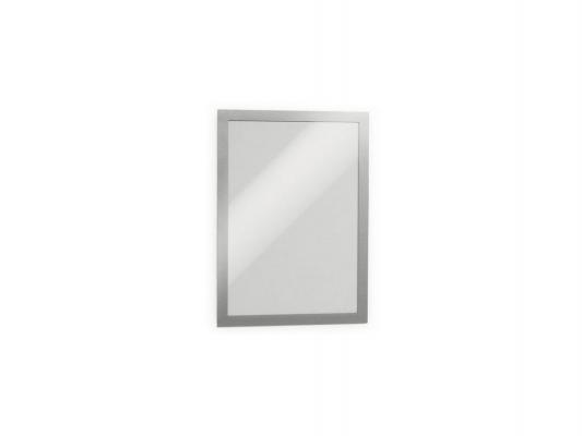 Магнитная рамка информационная Durable Magaframe cамоклеящаяся А3 серебристый 2шт 487323