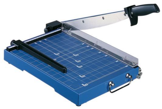 Резак сабельный KW-trio мощность 15 листов формат А4 металлическая база 3925 резак сабельный kw trio 13300