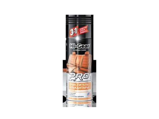 Очиститель алькантары PRO Line (пенный) проф.формула Hi Gear HG 5201 салфетки hi gear hg 5585