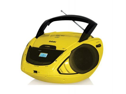 Магнитола BBK BX190U черно-желтый